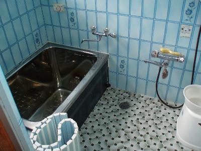よくある風景のお風呂です